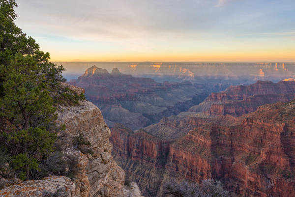 Wall Art - Photograph - North Rim Sunrise 3 - Grand Canyon National Park - Arizona by Brian Harig