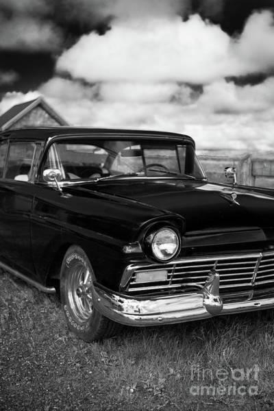 Wall Art - Photograph - North Rustico Vintage Car Prince Edward Island by Edward Fielding