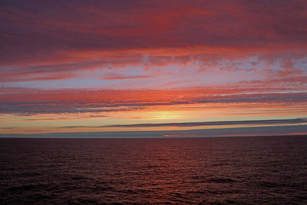 Photograph - North Sea Dawn by Tony Murtagh