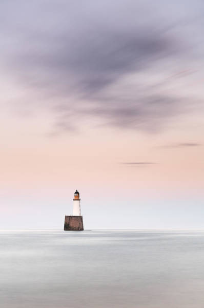 Photograph - North Sea Lighthouse by Grant Glendinning