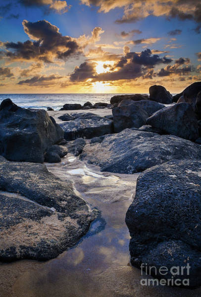 Photograph - North Shore Sunset by Inge Johnsson