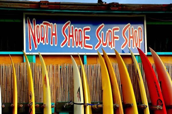 Photograph - North Shore Surf Shop 2 by Jim Albritton