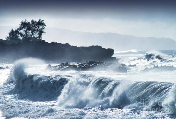 Photograph - North Shore Waimea Bay by Thomas R Fletcher