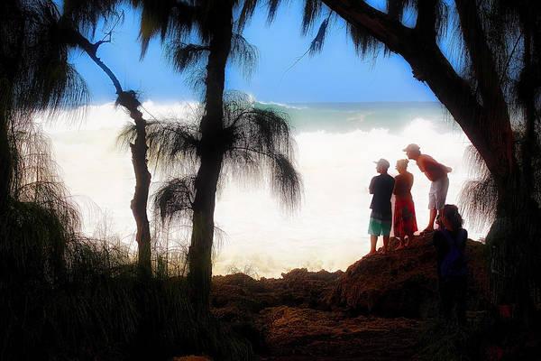 Photograph - North Shore Wave Spotting by Jim Albritton