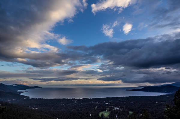 Photograph - North Tahoe Storm by Martin  Gollery