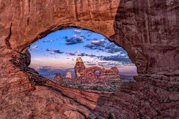 Photograph - North Window At Sunrise by Michael Ash