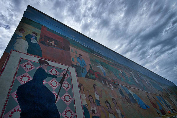 Photograph - Northampton Women Mural by Stuart Litoff