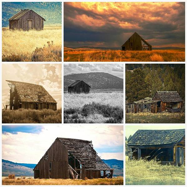Photograph - Northeastern California Barns by Sherri Meyer