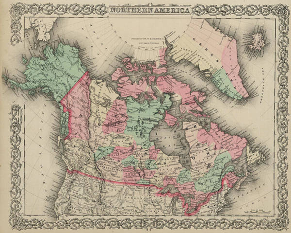 Wall Art - Painting - Northern America by Colton