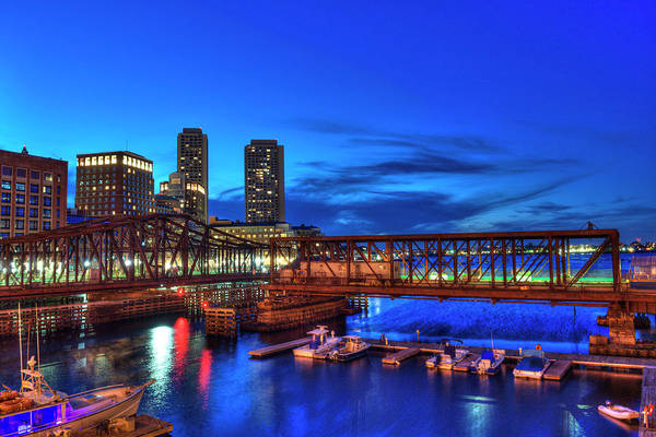 Photograph - Northern Avenue Bridge - Boston by Joann Vitali