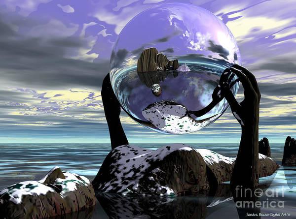 Digital Art - Northern Exposure by Sandra Bauser Digital Art