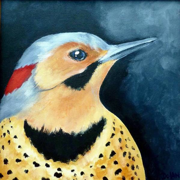 Painting - Northern Flicker by Pat Dolan