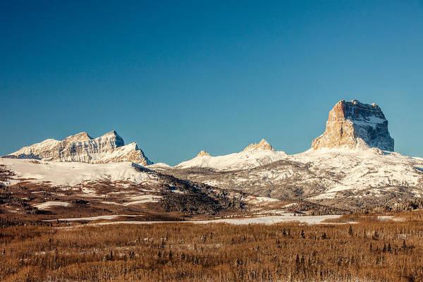 Glacier National Park Photograph - Northern Glacier Mountains by Todd Klassy