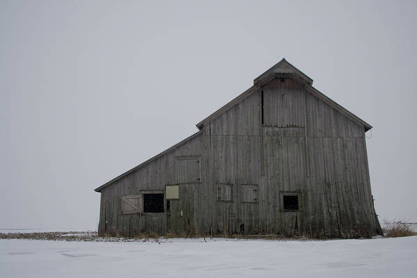 Photograph - Northern Gray Barn by Dylan Punke