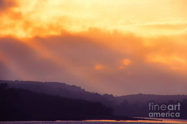 Photograph - Northern Ireland Evening View Over Strangford Lough by Thomas R Fletcher