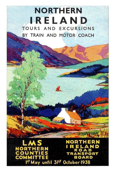 Wall Art - Painting - Northern Ireland, Scenery, Tours And Excursions by Long Shot