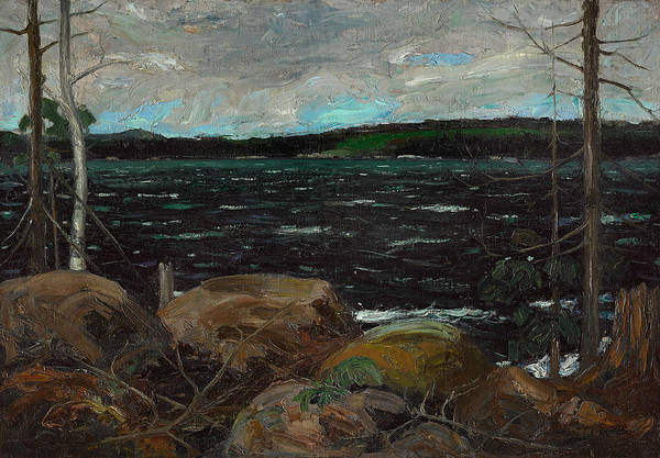 Painting - Northern Lake by Tom Thomson