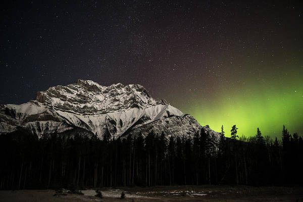 Photograph - Northern Light Over Cascade Mountain by Laura Szanto