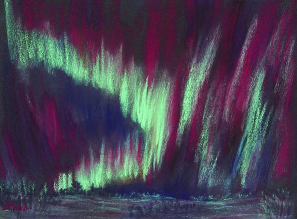 Painting - Northern Lights by Anastasiya Malakhova