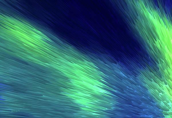 Painting - Northern Lights by Gerlinde Keating - Galleria GK Keating Associates Inc