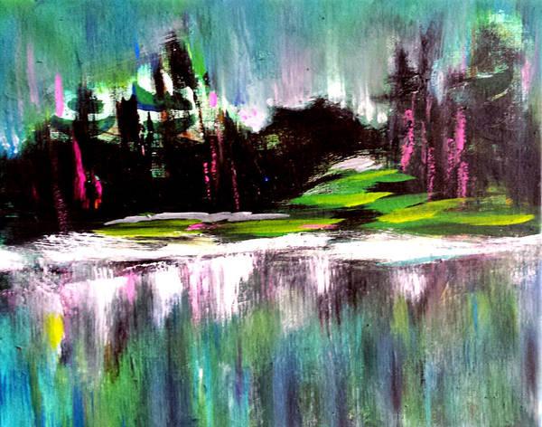 Painting - Northern Lights by Nikki Dalton