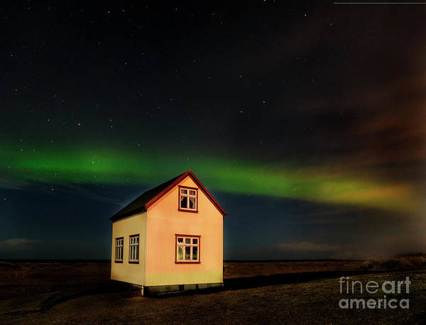 Photograph - Northern Lights Of Iceland 2 by Craig J Satterlee