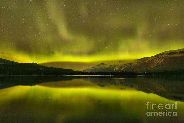 Photograph - Northern Lights Reflections by Adam Jewell