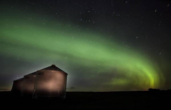 Wall Art - Photograph - Northern Lights Saskatchewan Canada by Mark Duffy
