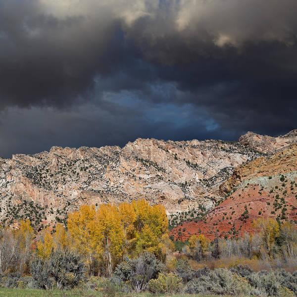 Uinta Wall Art - Photograph - Northern Uintas Autumn by Kathleen Bishop