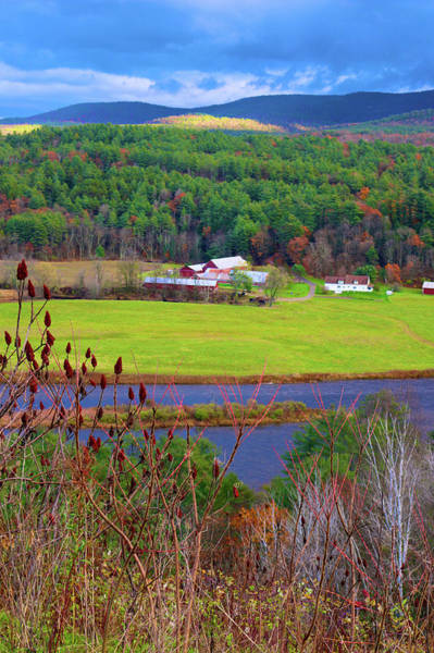Photograph - Northern Vermont Vista by Polly Castor