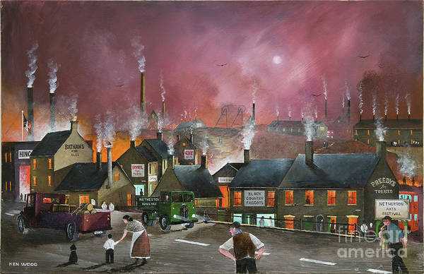 Painting - Northfield Road, Netherton by Ken Wood