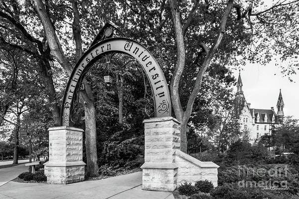 Northwestern University The Arch Art Print