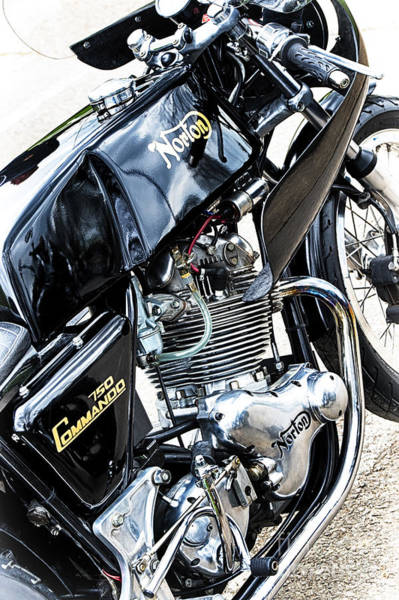 Photograph - Norton Commando 750cc  by Tim Gainey
