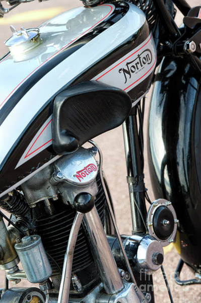 Photograph - Norton Cs1 by Tim Gainey