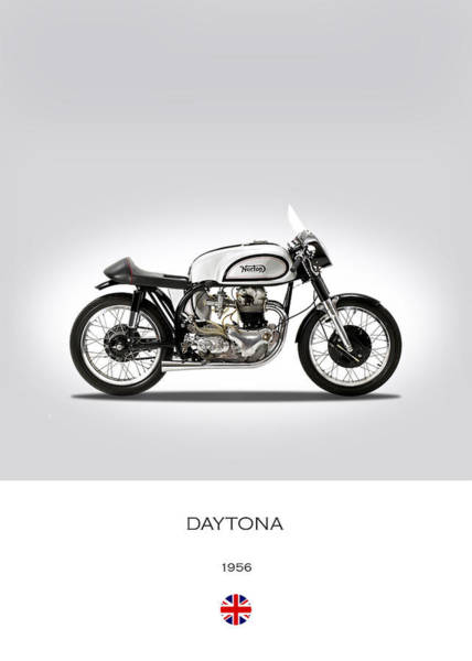 Daytona Photograph - Norton Daytona by Mark Rogan