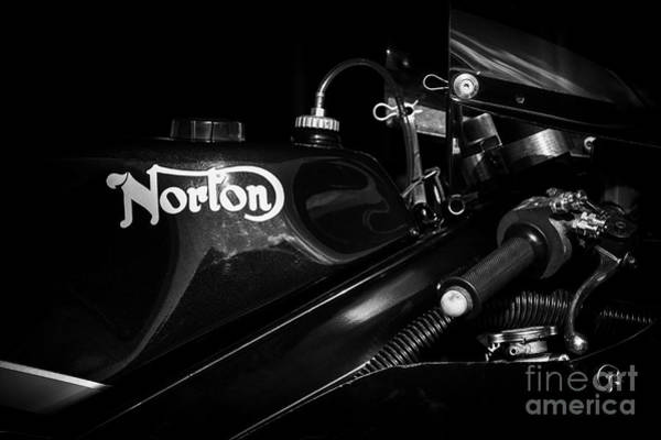 Rotor Photograph - Norton F1 by Tim Gainey