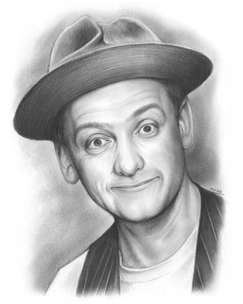 Comedy Wall Art - Drawing - Norton by Greg Joens