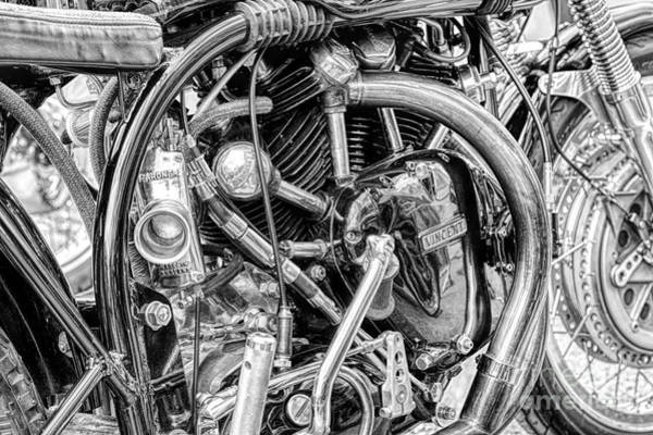 Casing Wall Art - Photograph - Norvin Monochrome by Tim Gainey