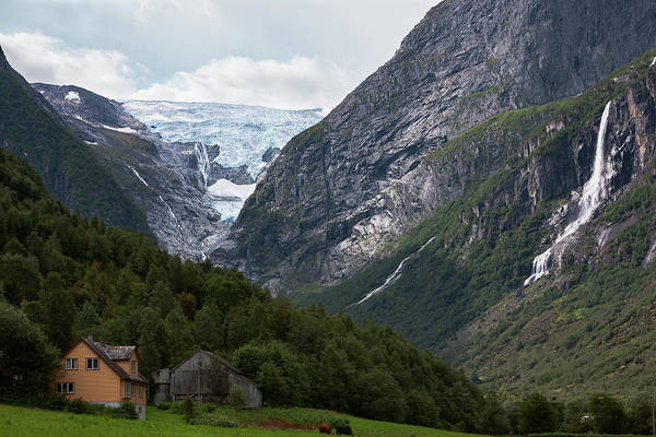 Photograph - Norway Glacier Jostedalsbreen by Andy Myatt