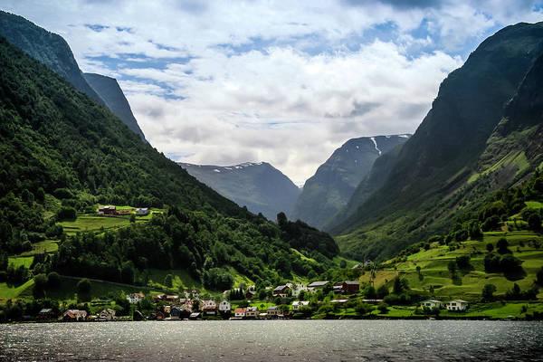 Photograph - Norwegian Fjord Village by KG Thienemann