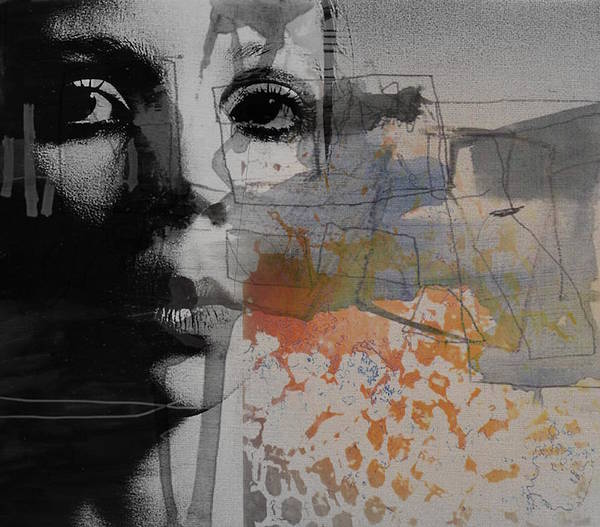 Girl Mixed Media - Norwegian Wood by Paul Lovering