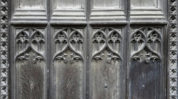 Digital Art - Norwich Cathedral Door by Julian Perry