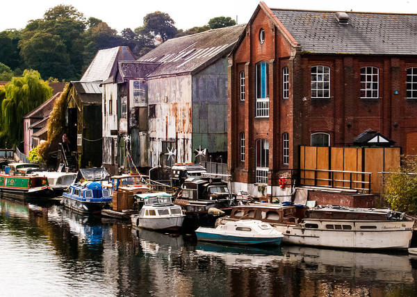 Photograph - Norwich River by Tom Potter