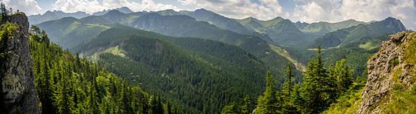 High Tatras Wall Art - Photograph - Nosal Tatry Panorama by Pati Photography