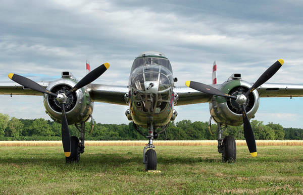 Warplane Photograph - Nose To Nose With Panchito by Peter Chilelli