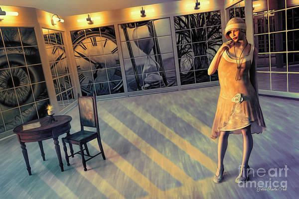 Wall Art - Digital Art - Nostalgia by Jutta Maria Pusl