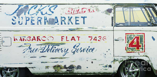 Motorhome Wall Art - Photograph - Nostalgic Panel Van by Tim Gainey