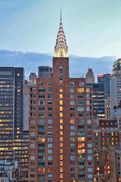 Photograph - Not The Chrysler Building Nyc by Bob Slitzan