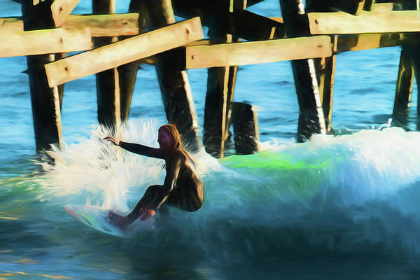 Photograph - Not Today Pier by Scott Campbell