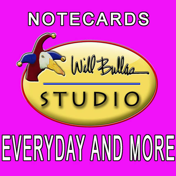 Wall Art - Painting - Notecards Everyday by Will Bullas